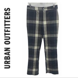 Urban Outfitters Plaid High Rise Pants